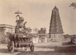 The Temple Car, Chamundi Hill, Mysore.